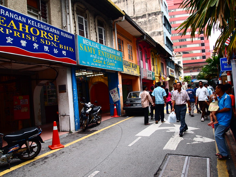 Malaysians in the streets of KL