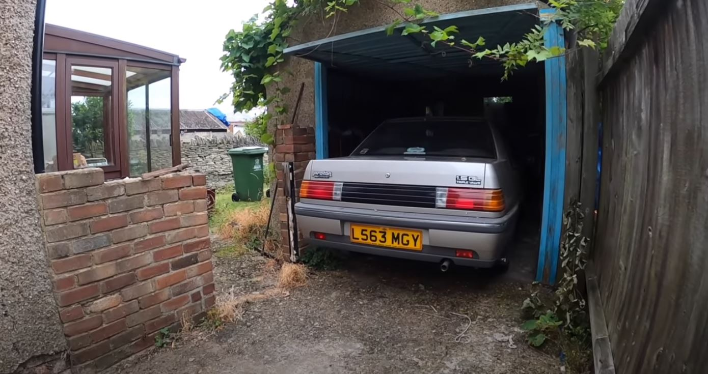 28 years old Proton Iswara in the UK