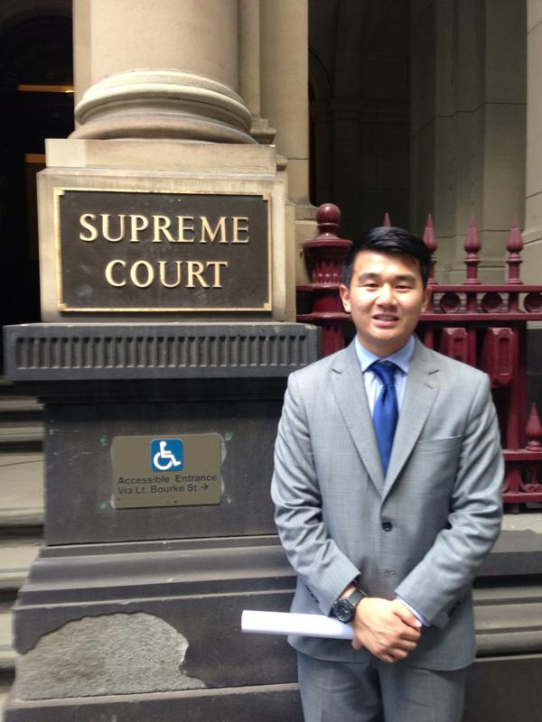 Ronny Chieng facts - lawyer
