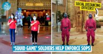 Mall Photoshops Squid Game Soldiers As Social Distancing Officers To 'Scare' Shoppers Into Following SOPs