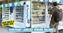 FamilyMart Now Has Vending Machines For Snacks & Drinks At Karak Highway 2, With More Locations To Come