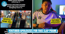 Malaysian YouTubers Apologise After Heavy Blacklash From Netizens On Fake Slap Prank In KL Mall