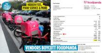 Foodpanda Vendors Say Platform Has Exorbitant Hidden Fees & Urge Customers To Boycott The Provider Like They Did