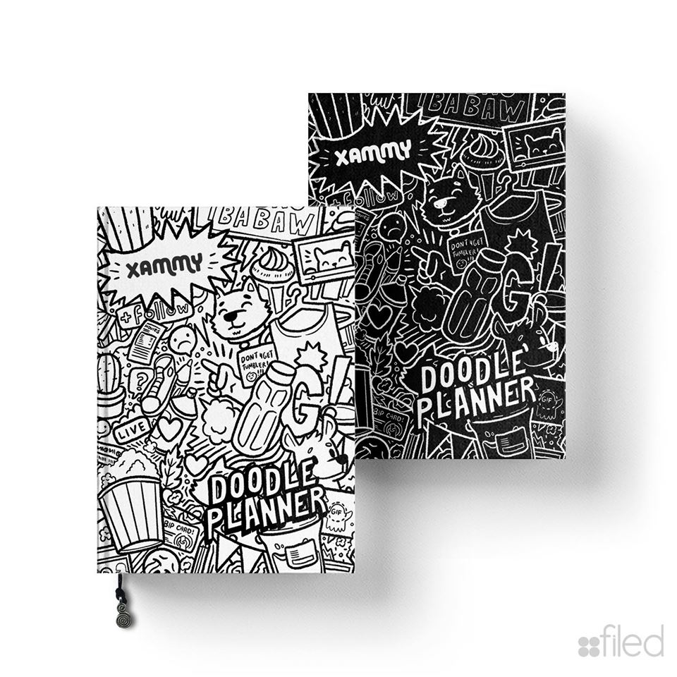 FILED doodle planners