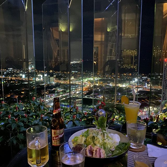 Rooftop dining away at The Nest Dining in the Sky