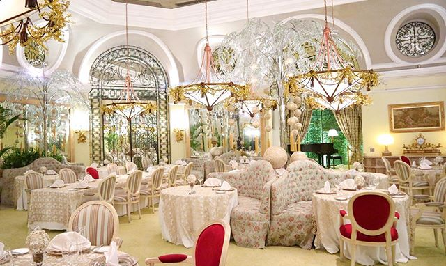 Feast like royalty in Manila Hotel's Champagne Room
