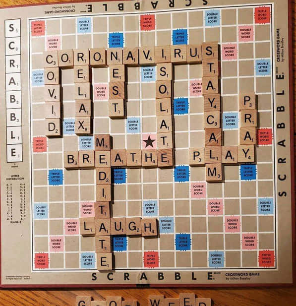 Scrabble during COVID