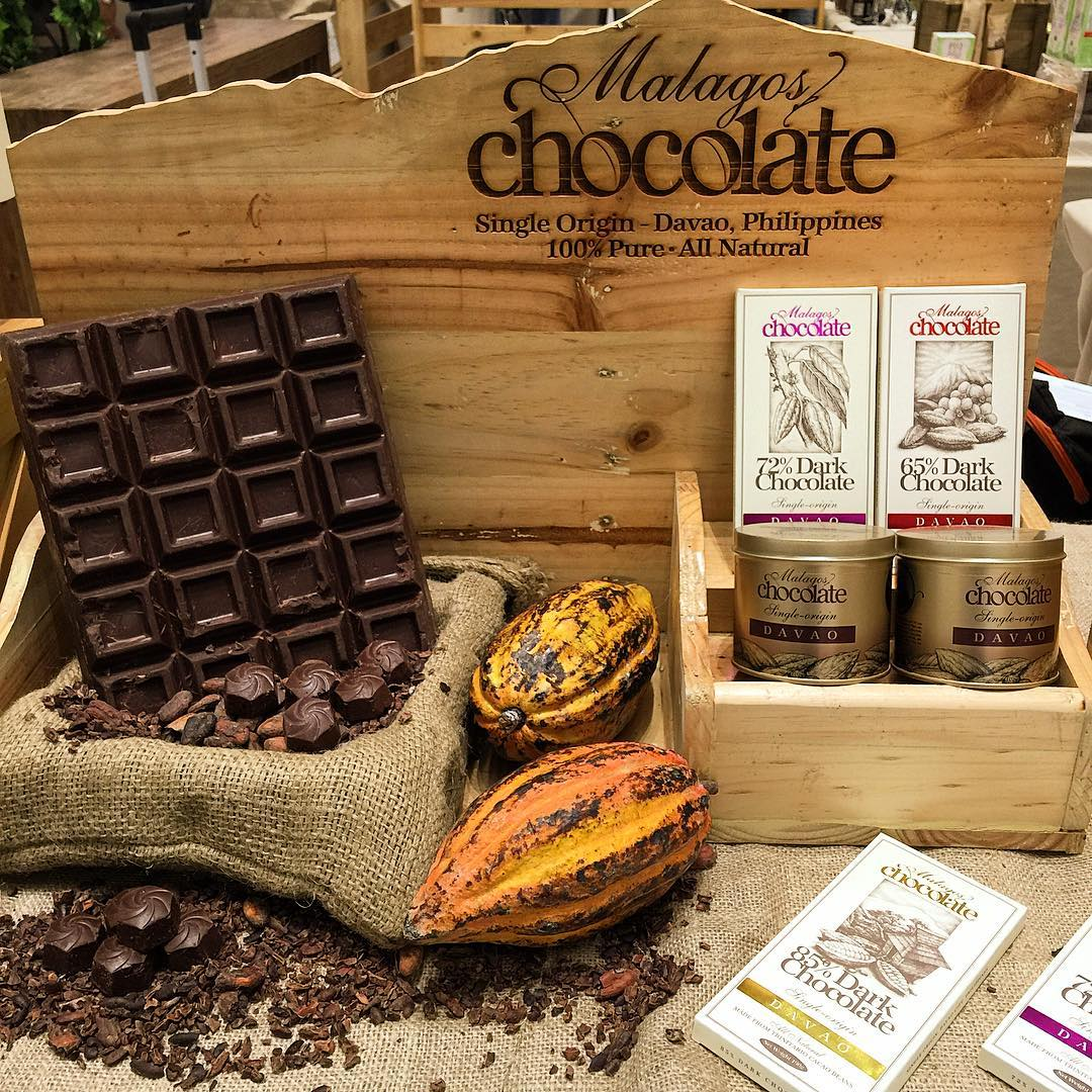 malagos chocolate museum products