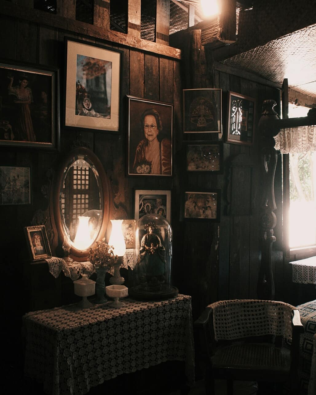 Curiosities that can be found insider the ancestral house