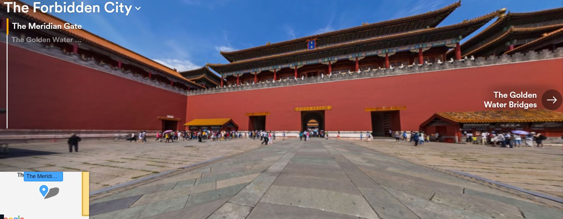 The Forbidden City's Meridian Gate