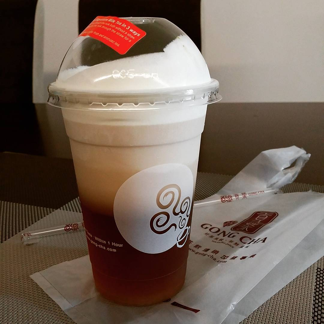 Gong-Cha's House Special Milk Winter Melon