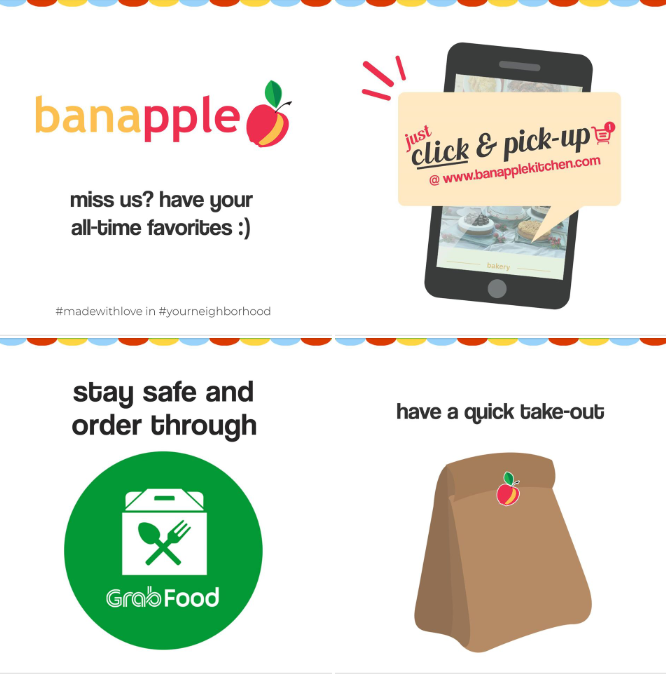 Banapple delivery options MECQ