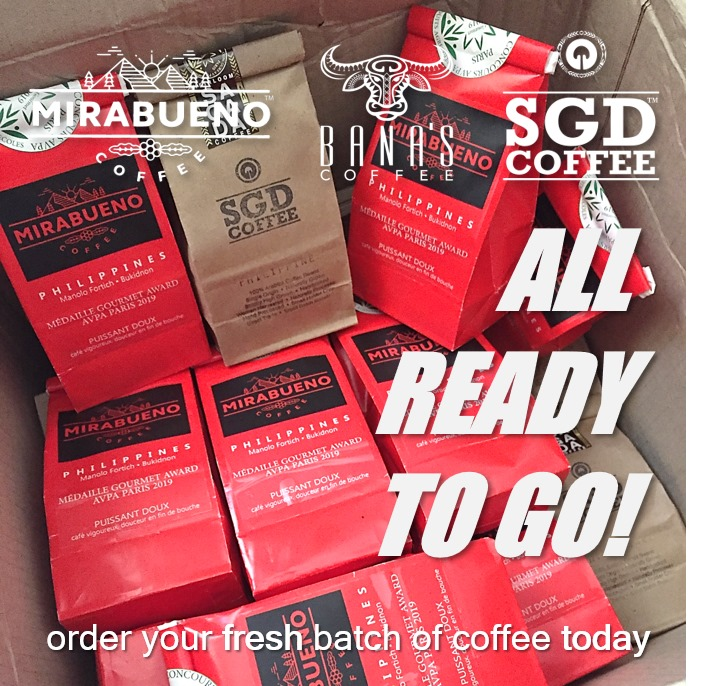SGD Coffee delivery
