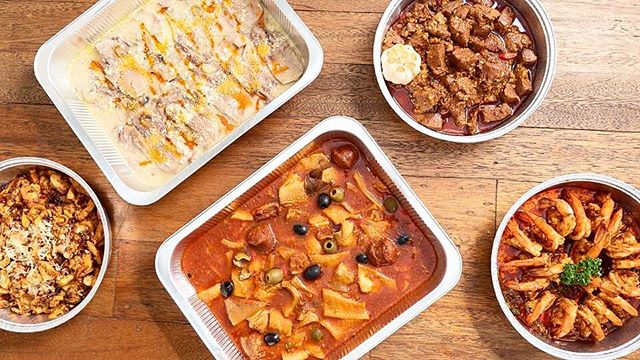 spread of spanish dishes