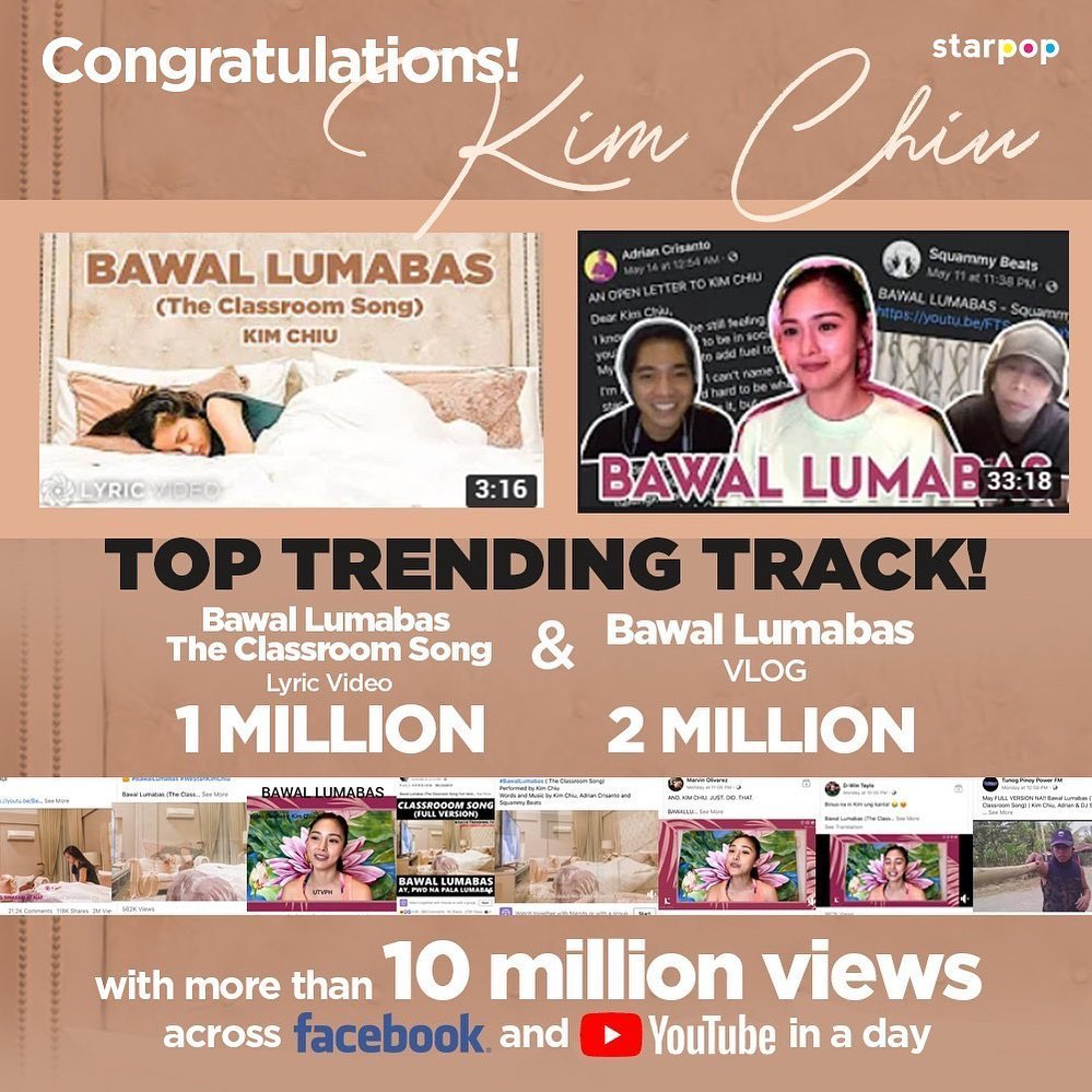 Bawal Lumabas's 10 million views