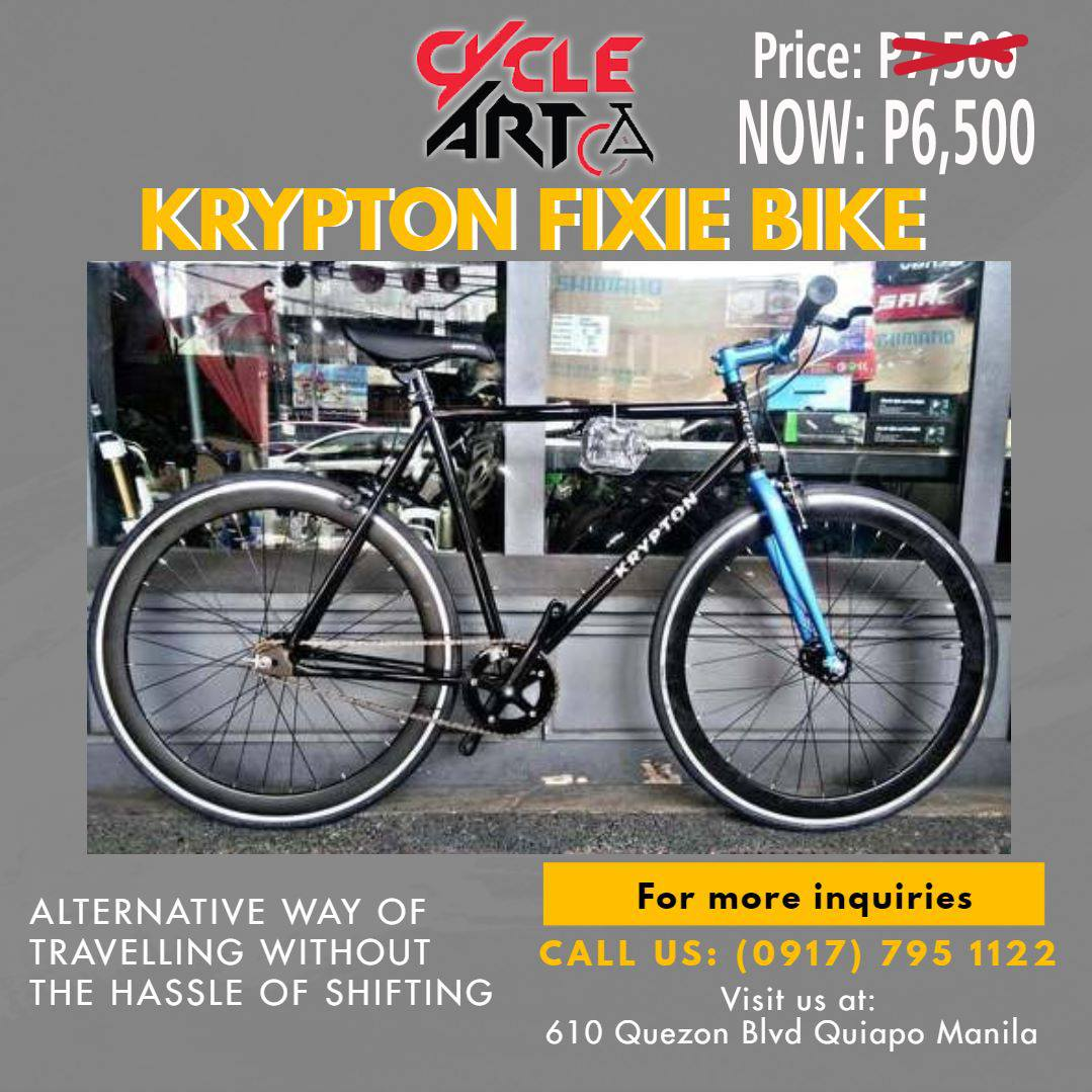 Krypton Fixie Bike
