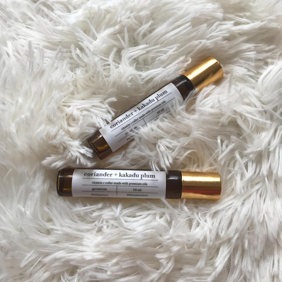 sustainable makeup and skincare - finn vitamin rollers