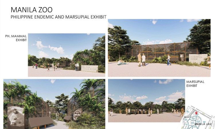 Manila Zoo reconstruction