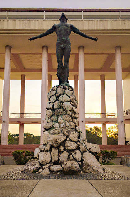 Philippine landmarks - UP Diliman Oblation