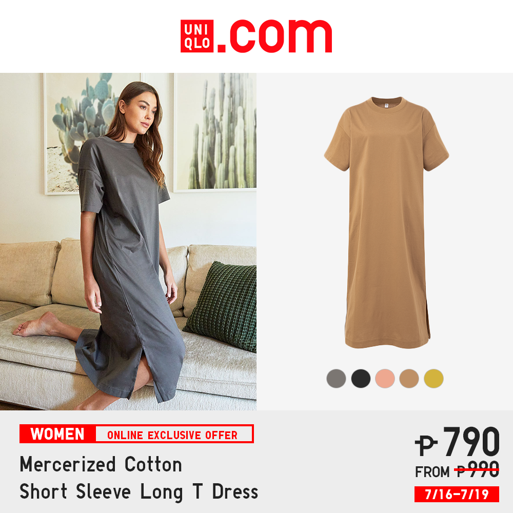 Uniqlo Philippines online store - long T dress