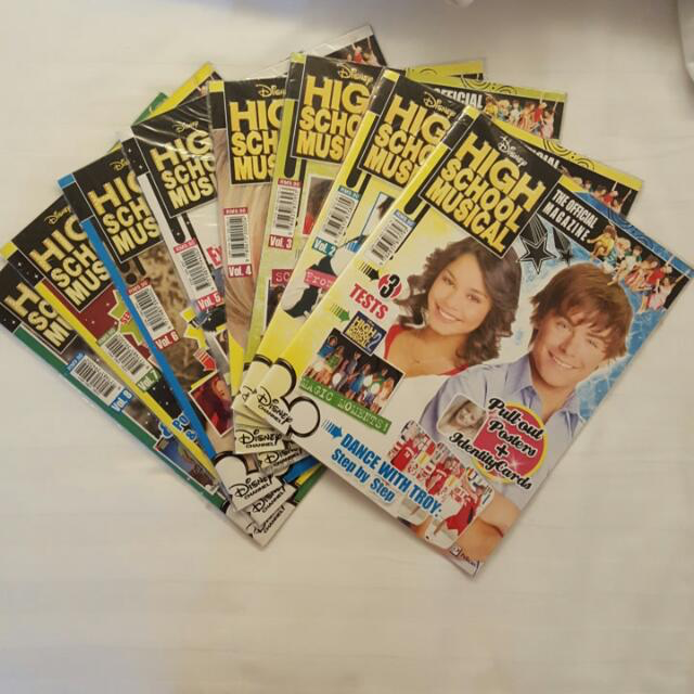 high school musical magazines