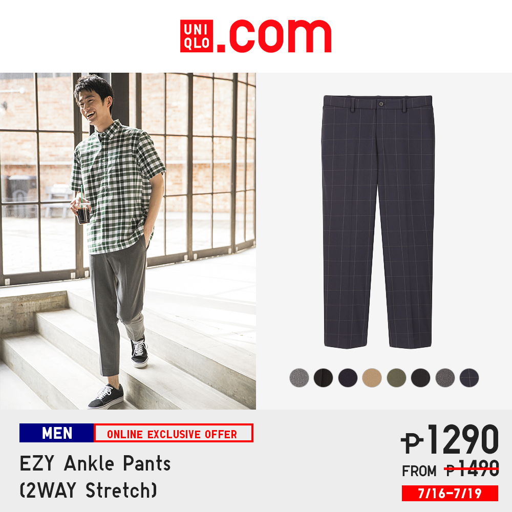 Uniqlo Philippines online store - EZY Ankle Pants