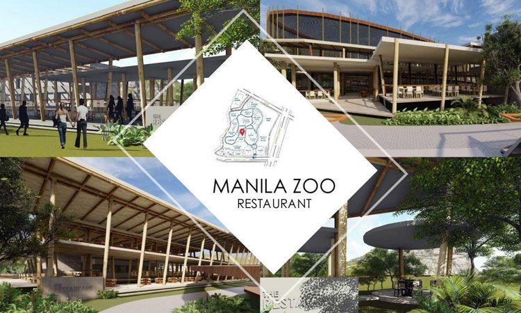 Manila Zoo reconstruction - restaurant