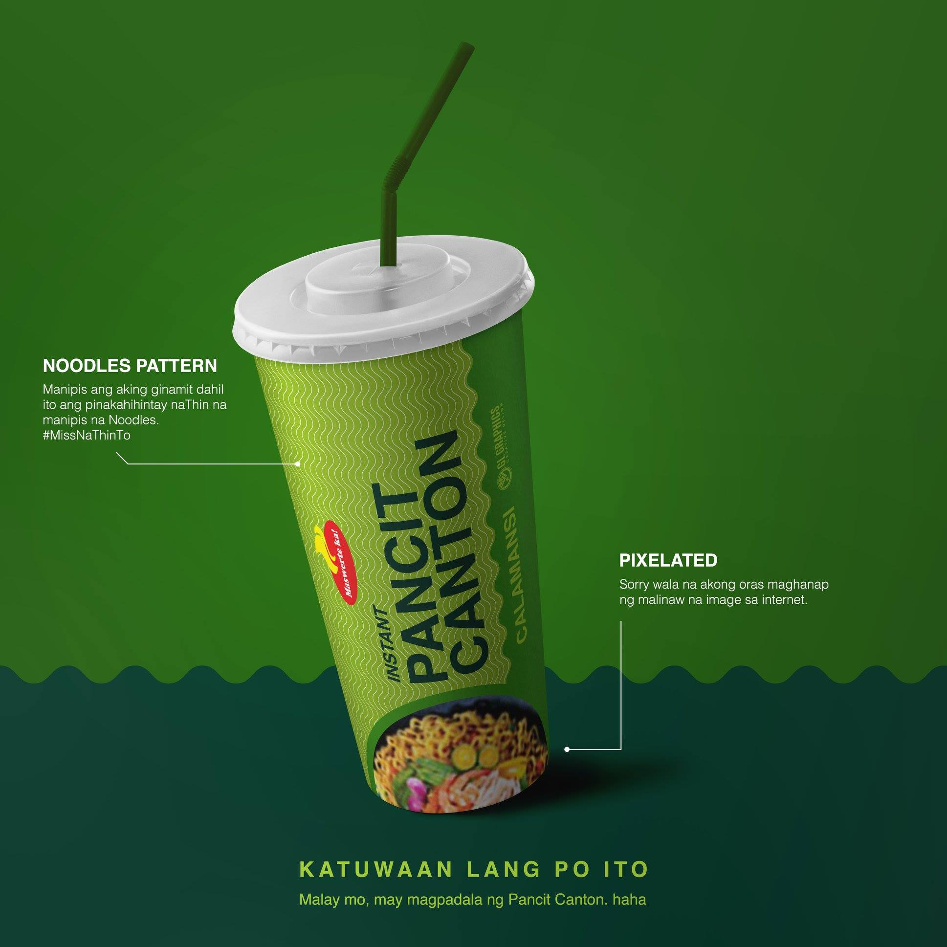 Pancit Canton packaging designs