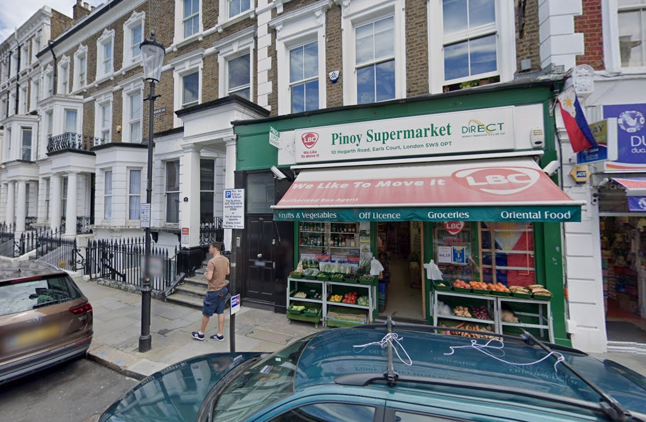 pinoy supermarket in earls court uk