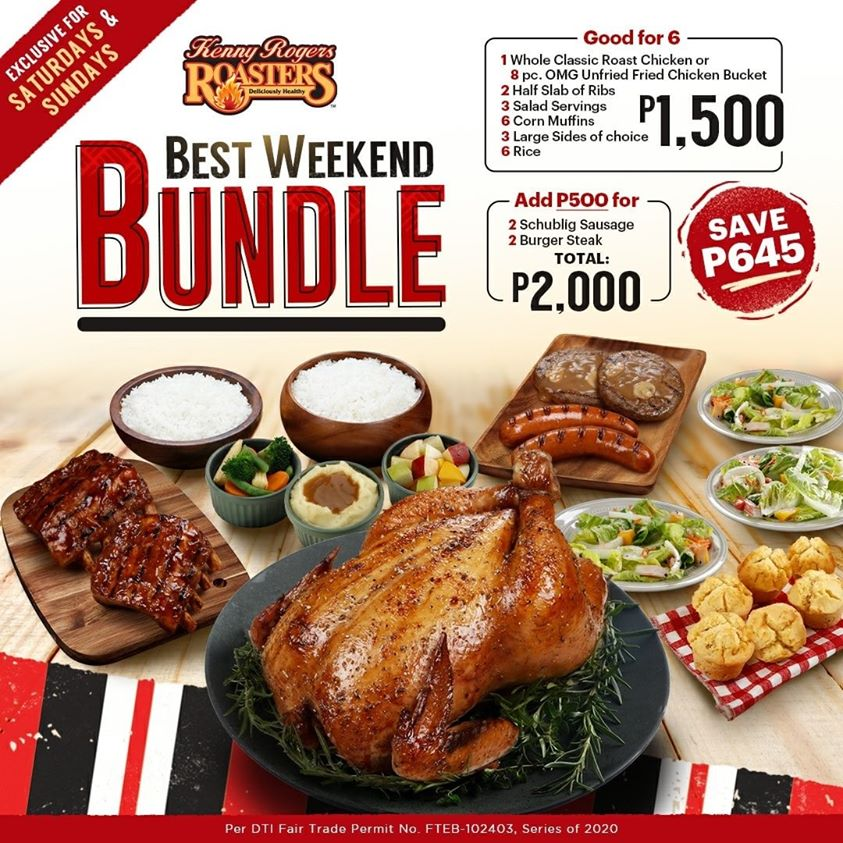 August 2020 deals - Kenny Rogers