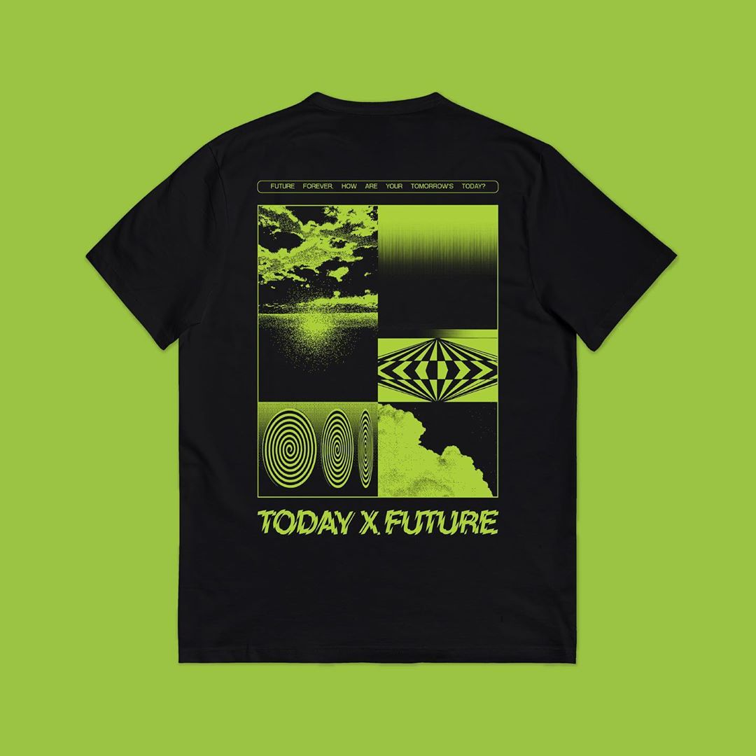 Manila Takeout t-shirts - Today x Future