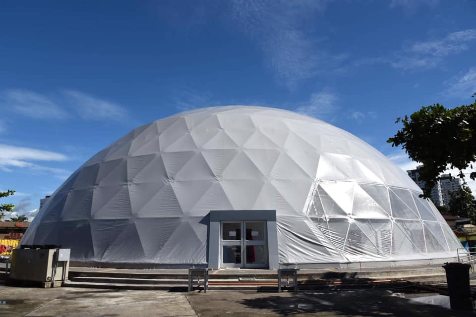 Davao dome isolation facility