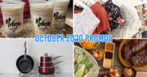 10 Deals & Sales In the Philippines This October 2020 From Free Milk Tea To 50% Off Home Essentials