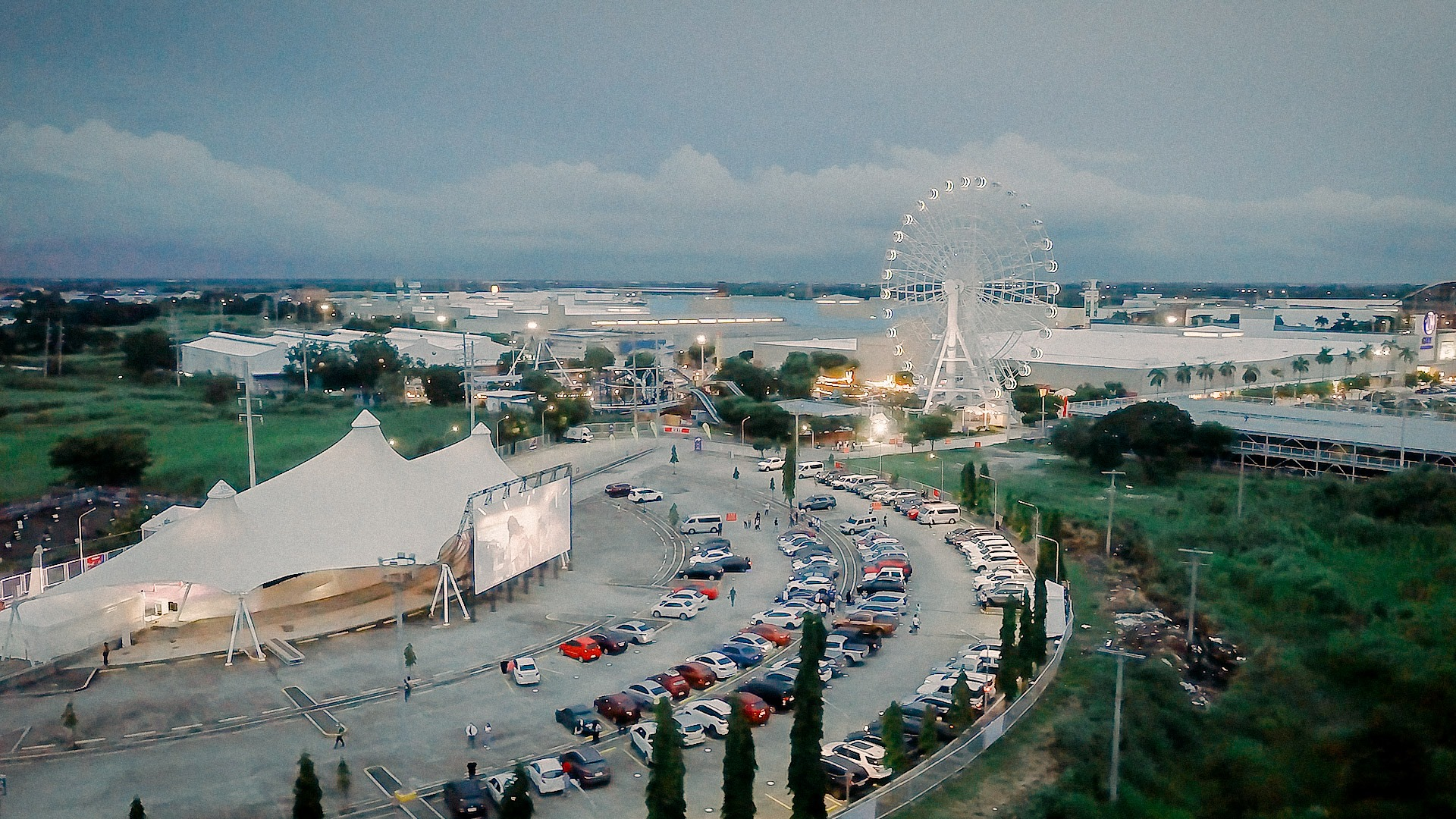Mall of Asia drive in