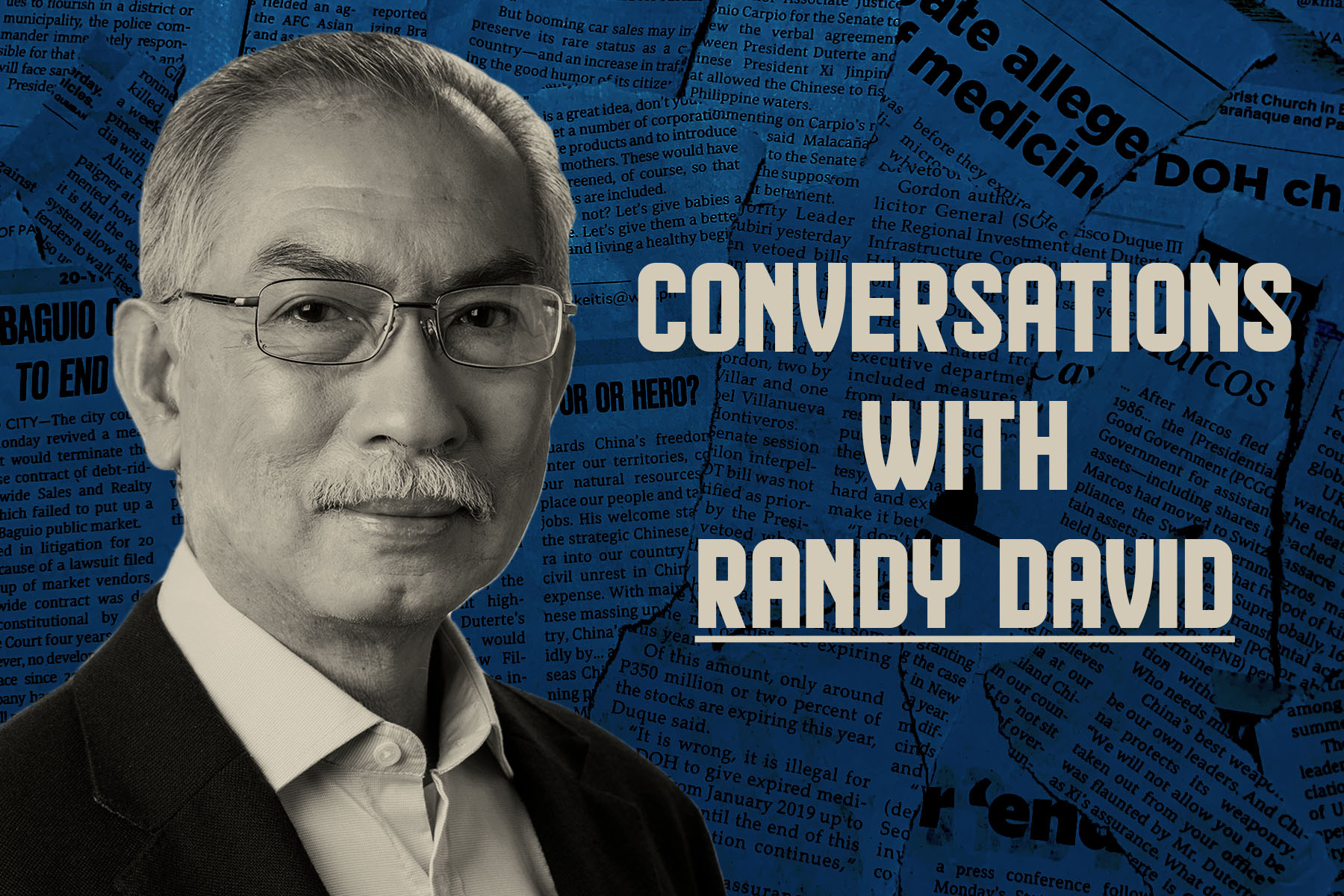 Best podcasts - Conversations with Randy David