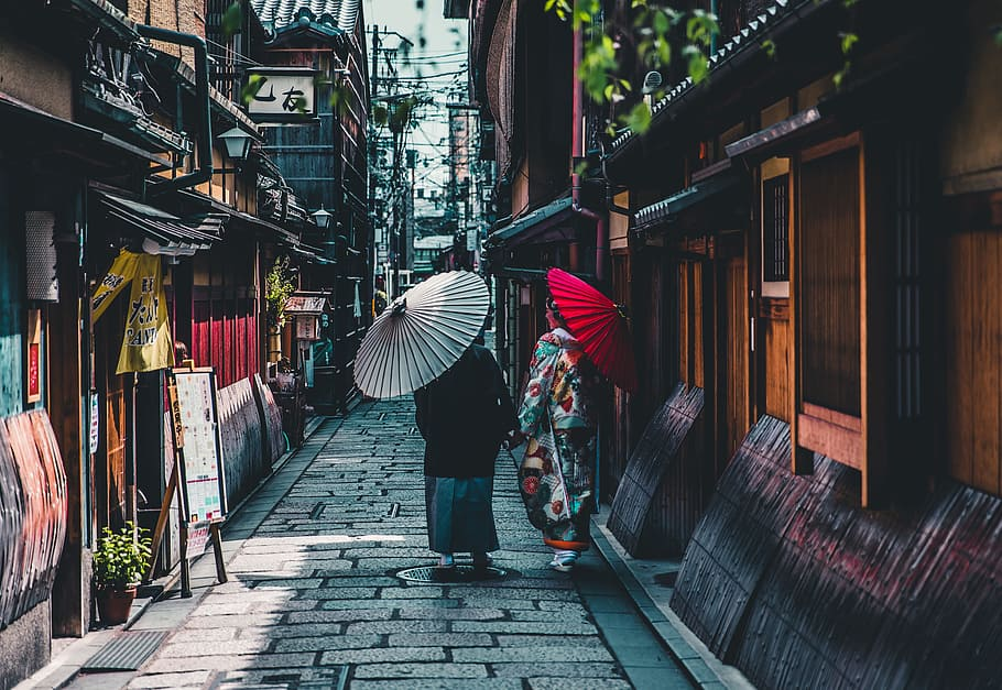 Free online events October 2020 - virtual tour in Gion