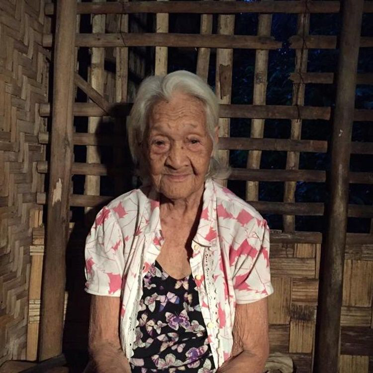 123 years old - lola francisca