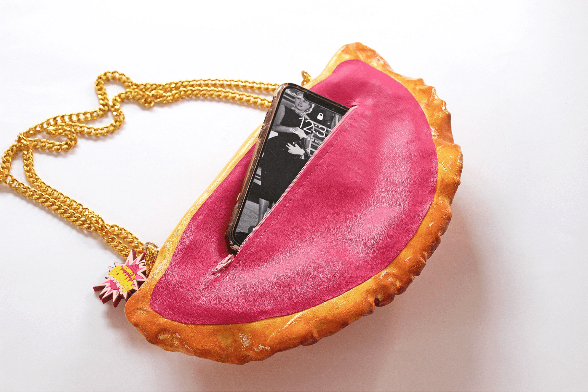 empanada purse - fits iphone