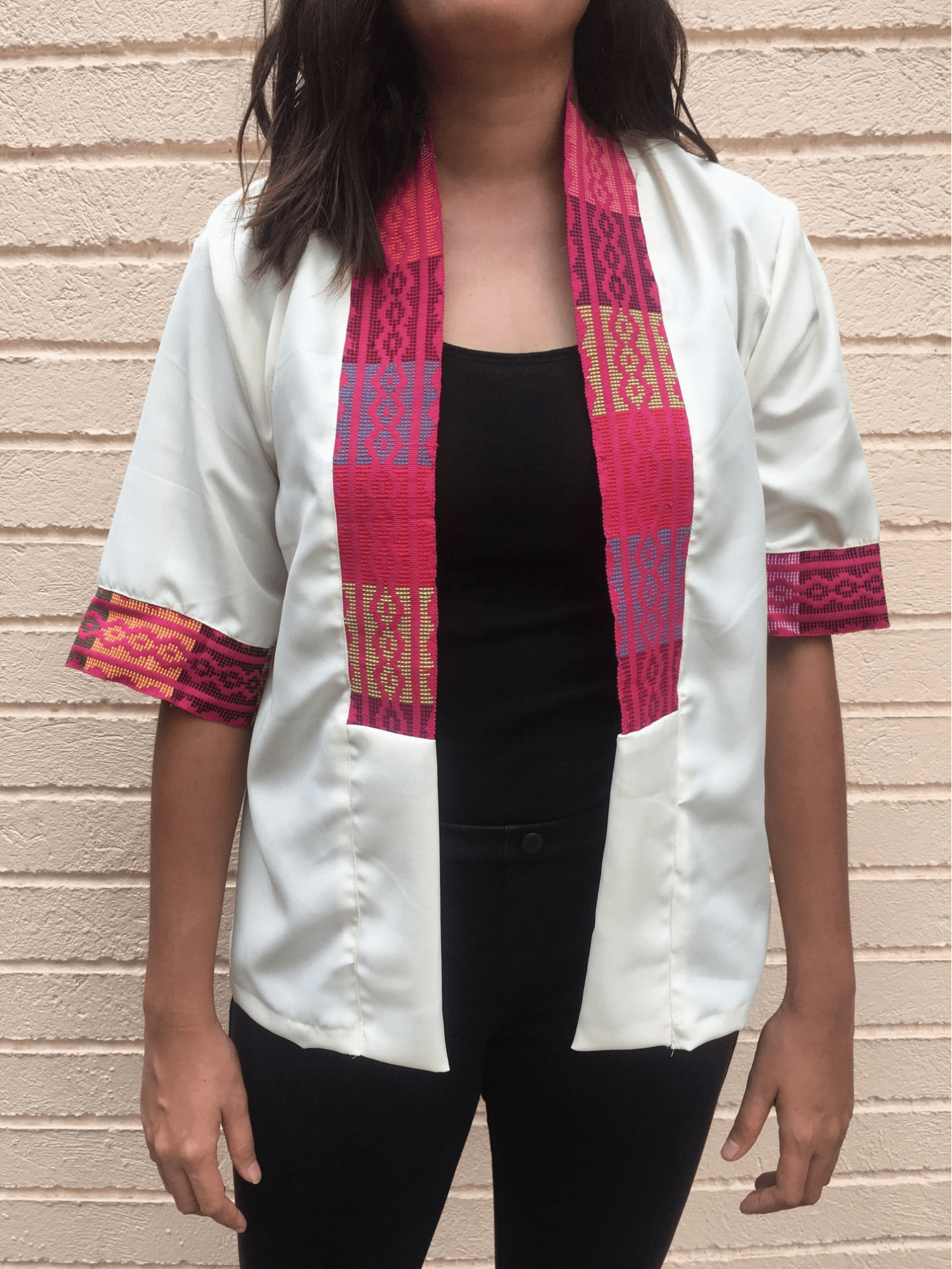 clothes from indigenous fabrics - blazer