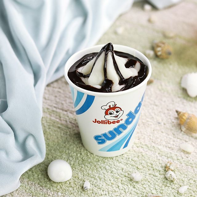 jollibee under 350 calories - chocolate sundae