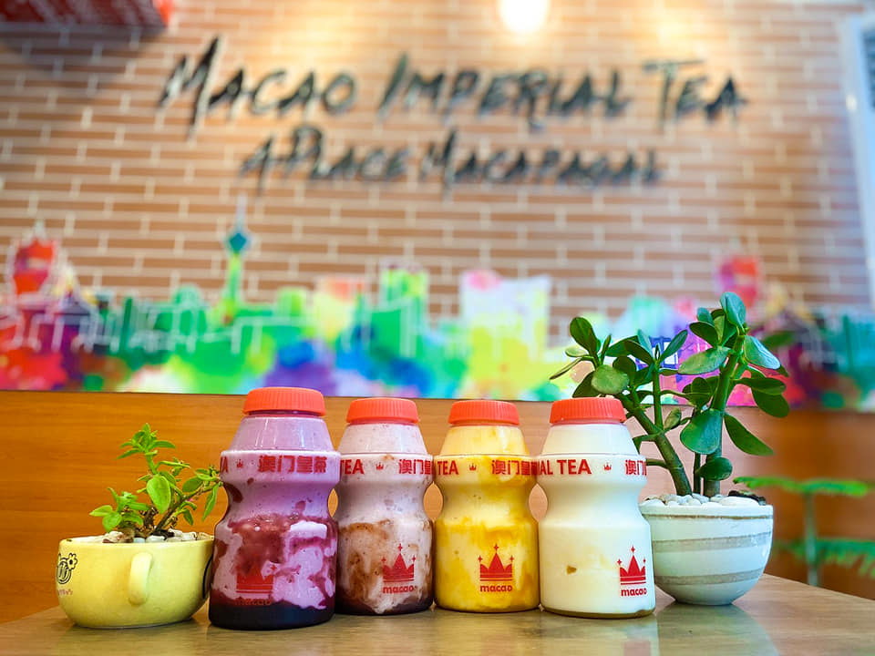 macao imperial tea four bottles