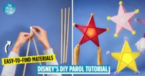 Disney's 2-Minute DIY Parol Tutorial Is Here To Help You Save Up On Your Christmas Decor Budget