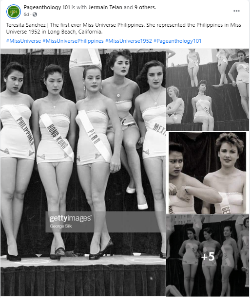First Miss Universe Philippines - Pageanthology 101
