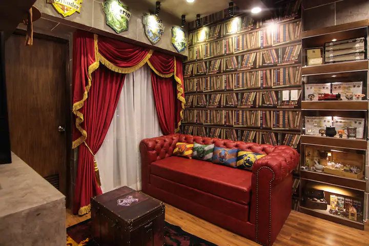 Tagaytay staycation houses - Harry Potter-themed Airbnb