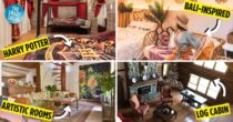 8 Unique Staycation Houses And Rooms In Tagaytay From A Log Cabin House To A Harry Potter Airbnb