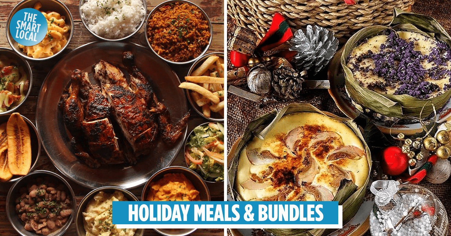 Christmas New Year Dinner Bundles For Your Stay Home Spread