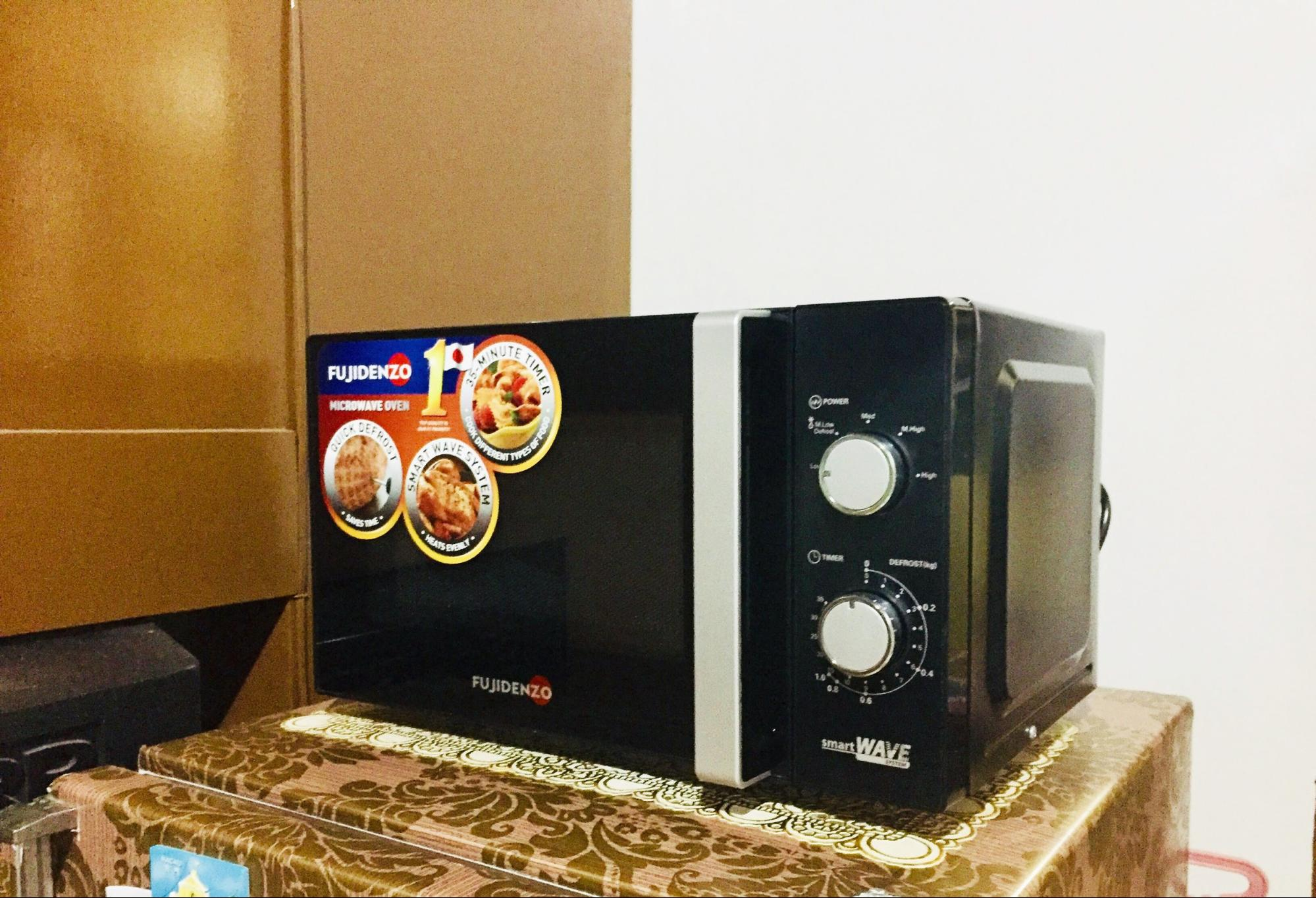 Microwave oven - Fujidenzo Microwave Oven MM22 BL