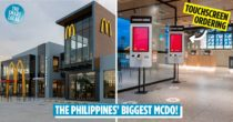 The Philippines' Biggest McDonald's Is Now In Pampanga, Open 24 Hours With Touchscreen Ordering, Drive-Thru & Delivery
