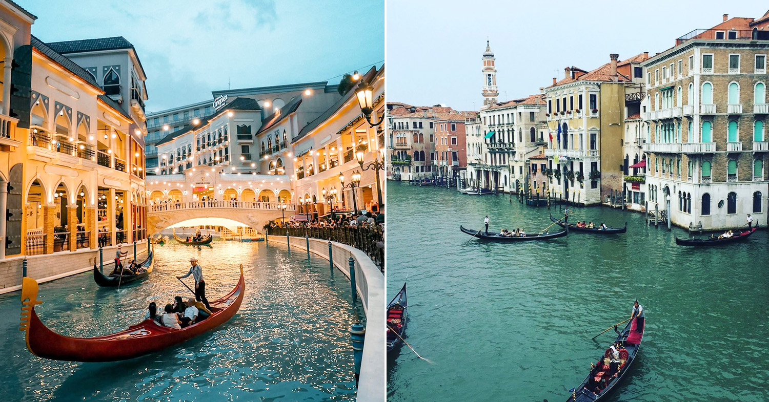 European places Philippines - Venice Grand Canal Mall