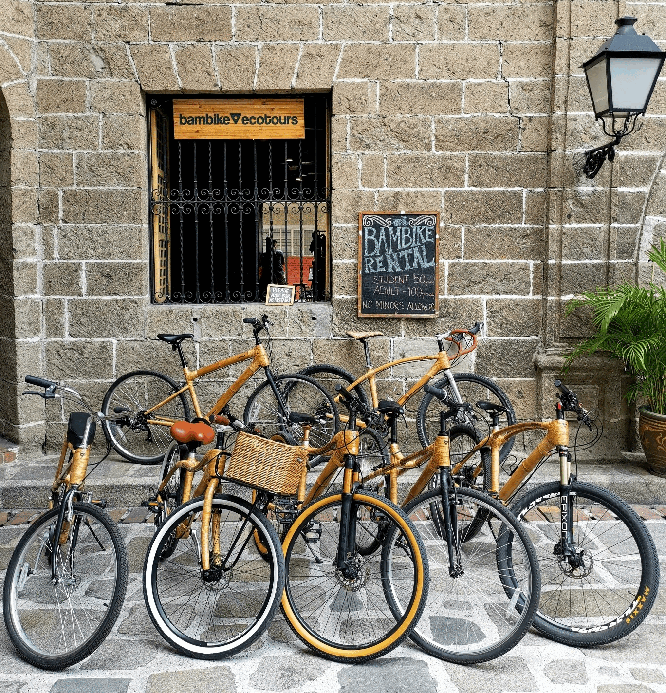 Intramuros reopens - Bambike